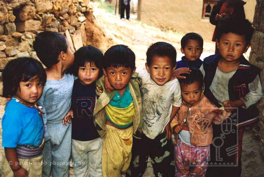 Bhutanese Children Bhutan