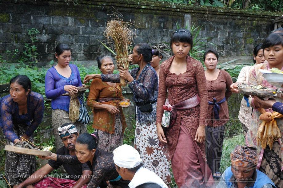 Preparing for Cremation Bali