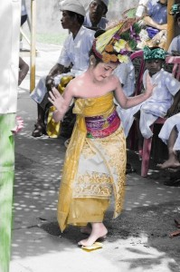 Bali Dancer - I bonded with this 8 year old girl while photographing a ceremony.