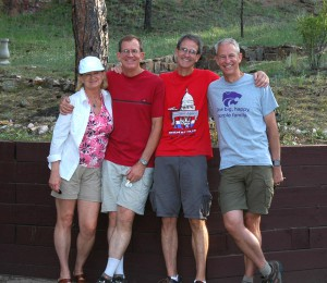 My brothers and myself in Colorado