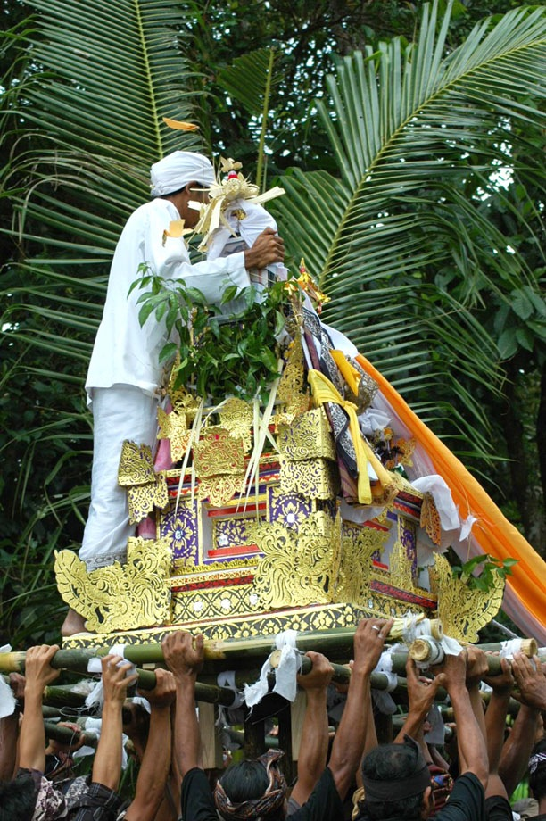 Chief of cremation ceremony