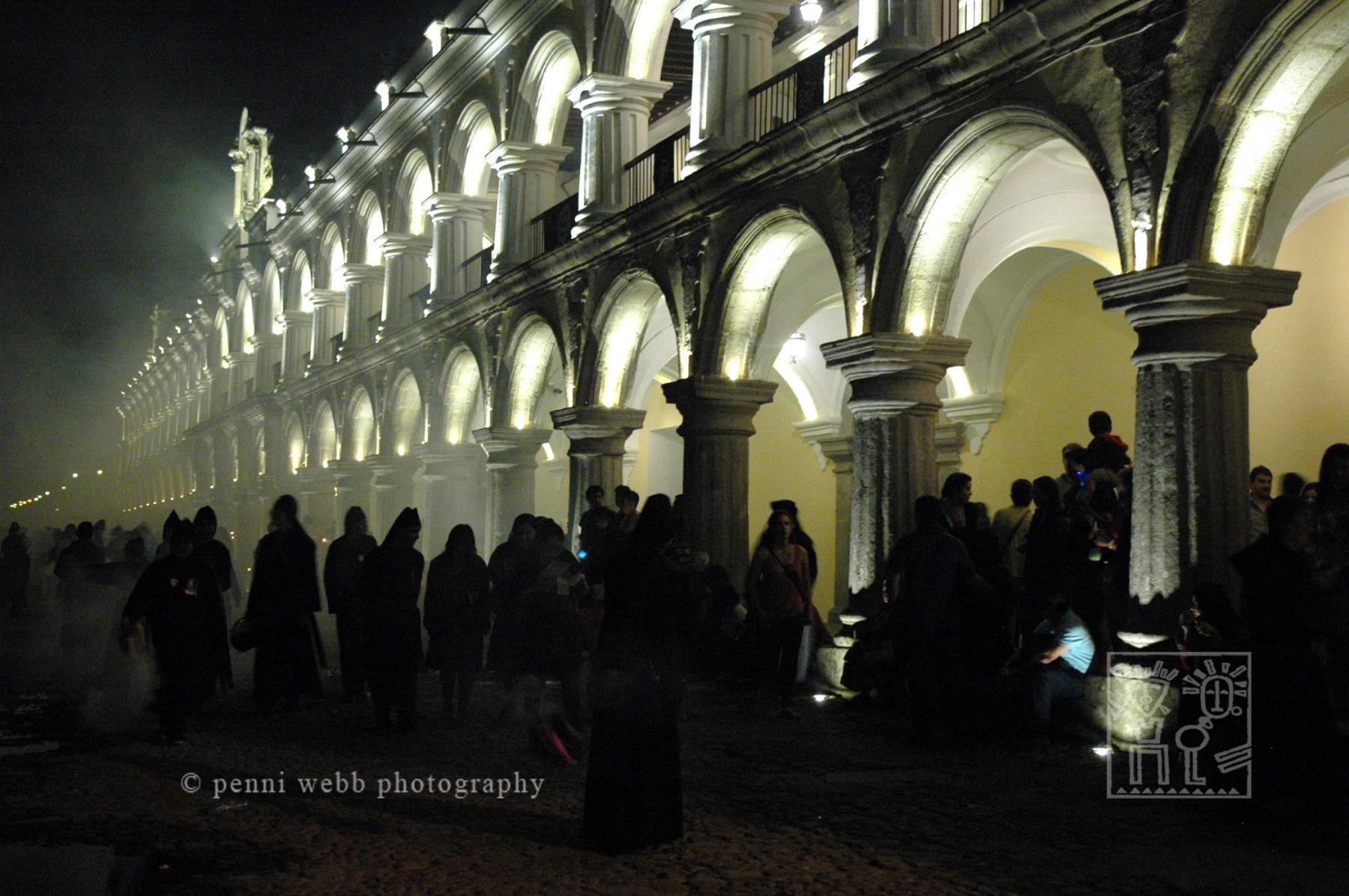 Night plaza