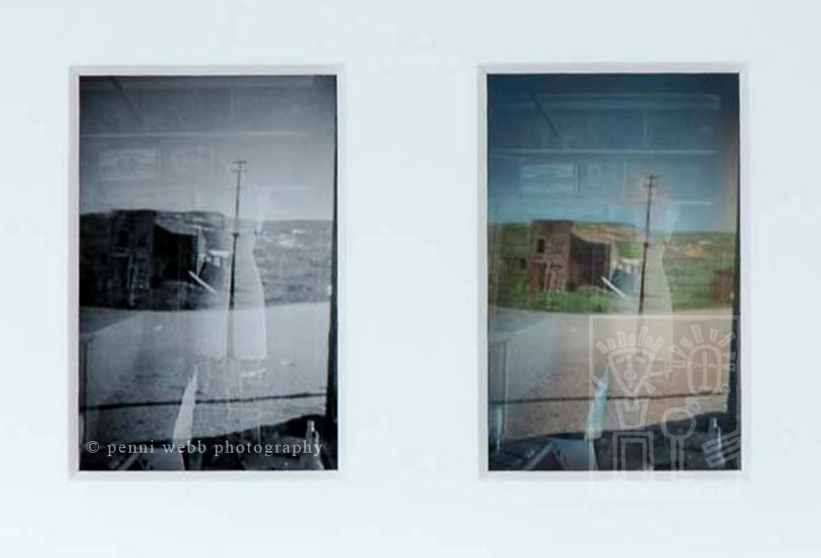 Ghosts, framed