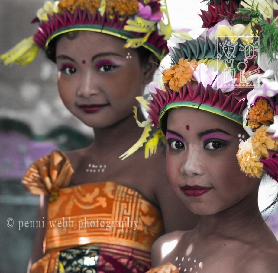 Two Bali Beauties