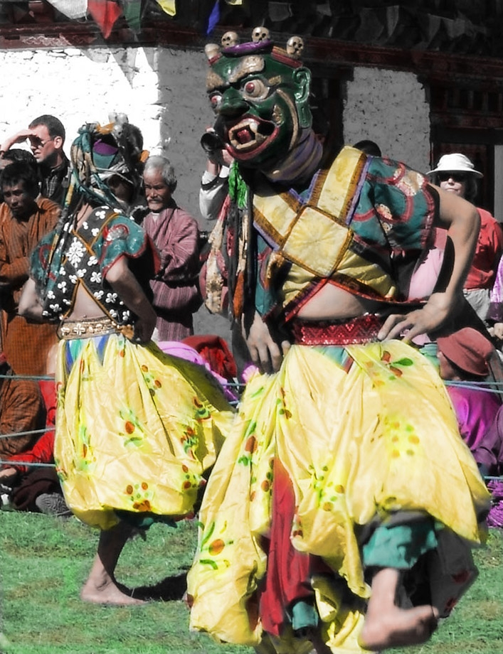 Cast out Misfortune, Bhutan