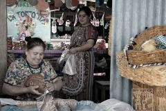 2 Guatemalan Women at Market