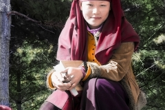 Bhutanese Nun