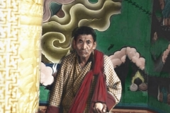 Man w/ Golden Prayer wheel
