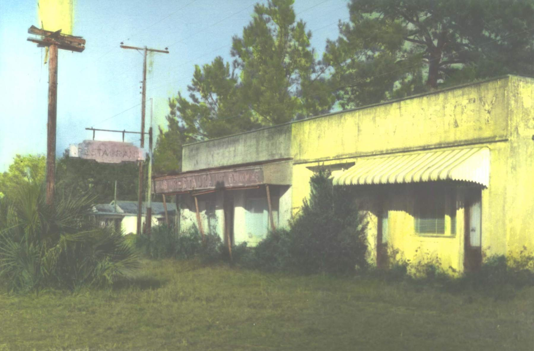 Abondoned town, N. Florida