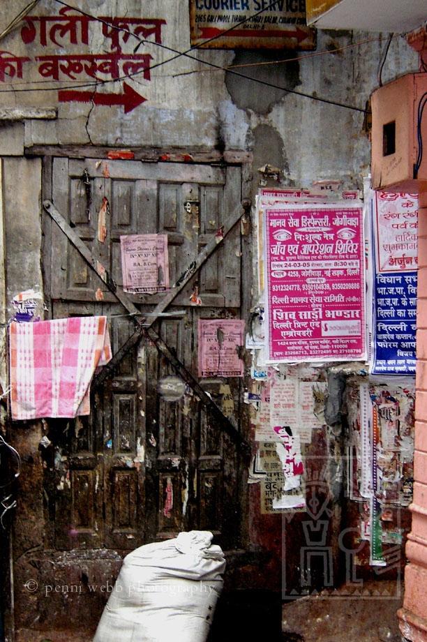 Old Delhi Wall India