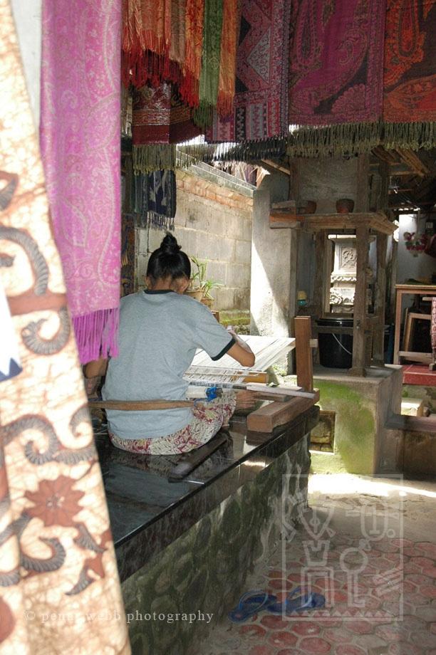 Weaver in Light Bali