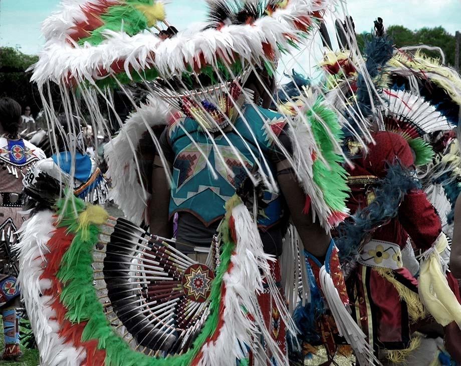 Huichol-Dancers Taos, NM