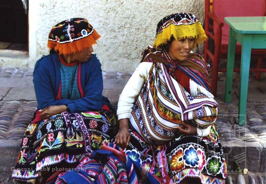 Pisac women