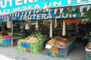 Costa Rican Fruita Stand