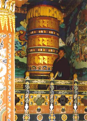 38. Prayer wheel with Man wm 2.jpg